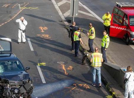 Investigan como posible ataque islamista una serie de choques ocurridos en una autopista de Berlín