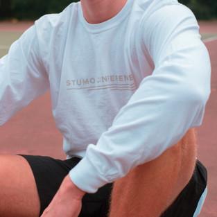 White SMC Long Sleeve