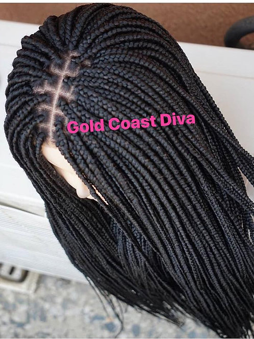 Full Lace Box Braid Unit