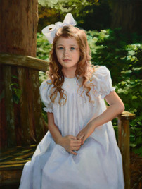 """Mary Kathryn Private Collection 34x24"""" Oil on linen"""