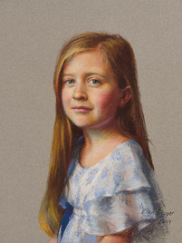 "Vivian Private Collection 19x14"" Pastel"