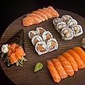 Promoção 5: Combinado Nobu (24 peças) + 1 Temaki.