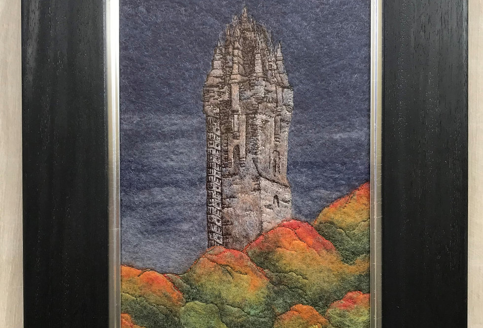 Wallace Monument - Professionally Framed Original Painting
