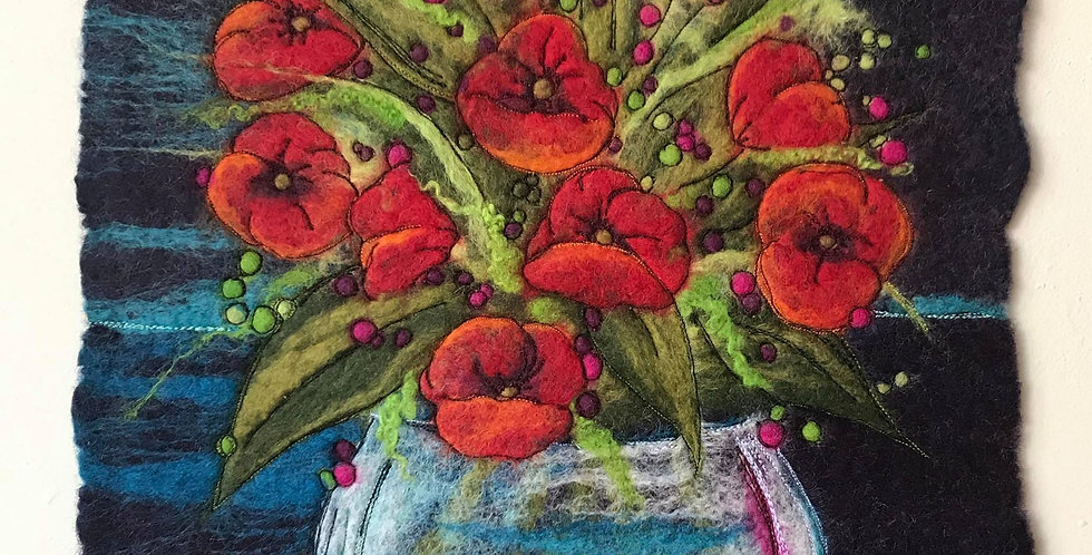 Poppies - ORIGINAL ARTWORK