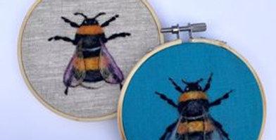 Online Needle Felting Workshop - Needle Felt a Bumble Bee