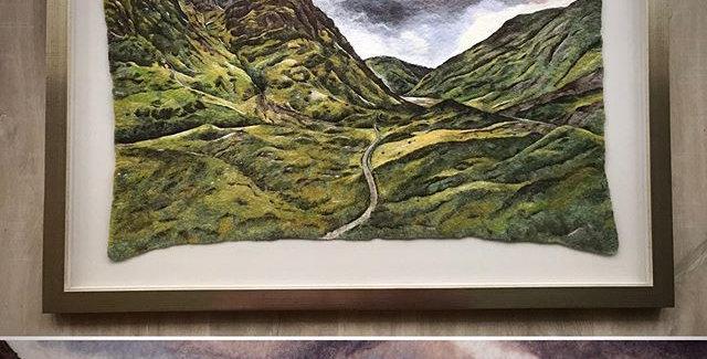 Hidden Valley - Professionally Framed Original Painting