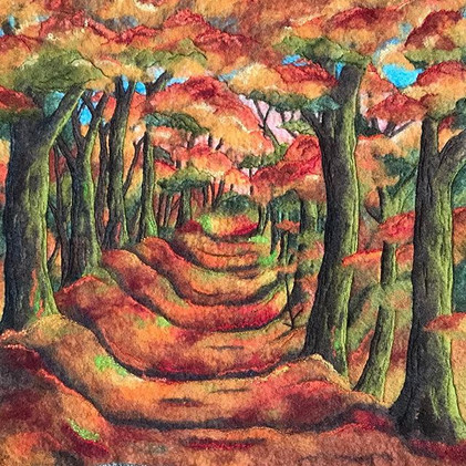 Woodland path - Landscape Commission