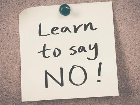 Apprenez à dire NON, Affirmez-vous!