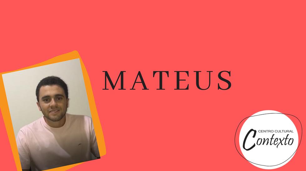 Depoimento - Mateus