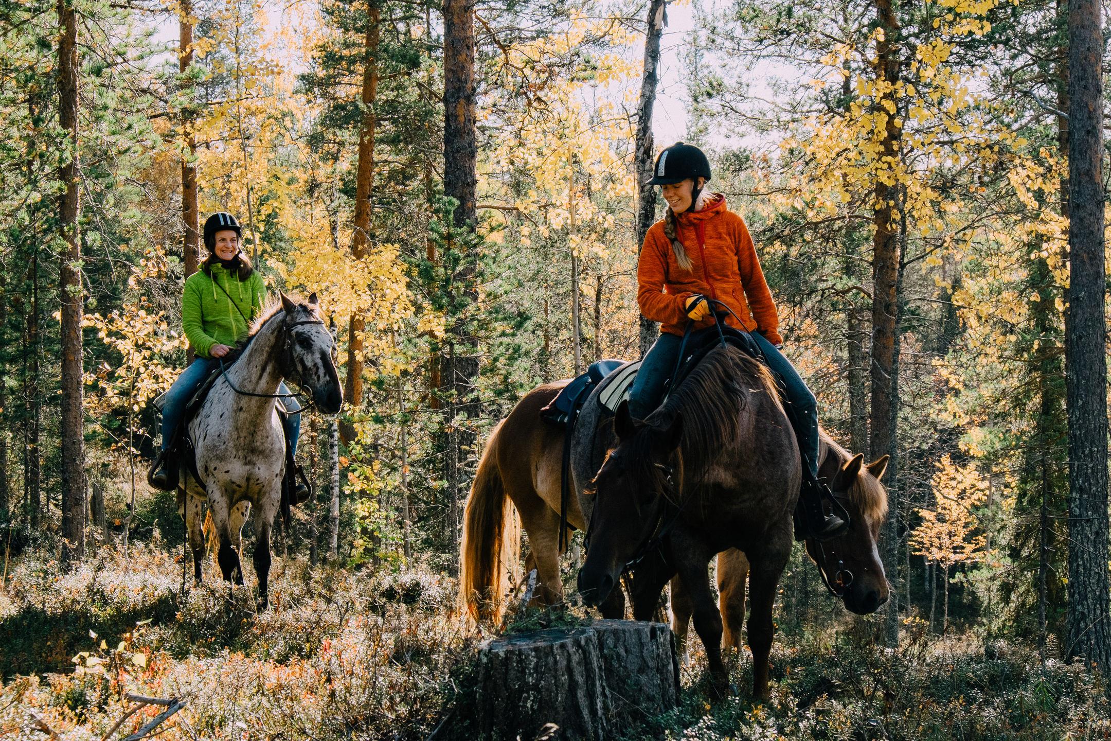Finland_Pyha_Horseback
