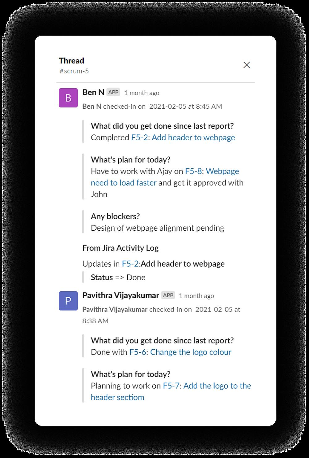 Jira slack integration preview