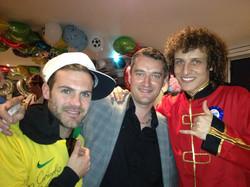David Luiz & Juan Mata