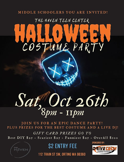 Haven - Halloween Costume Party 2019 (en