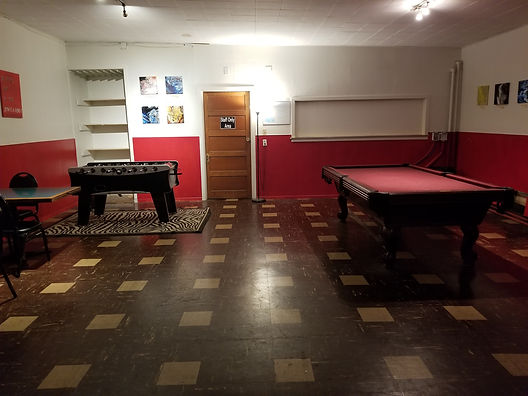 Pool and Foosball Tables