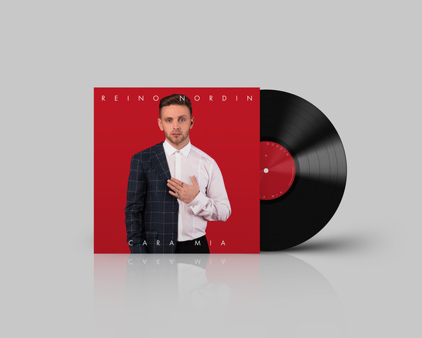 Vinyl Record Mockup - Reino Nordin - 150