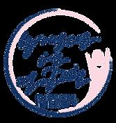 Women in Motion PT logo v2 navy salmon p
