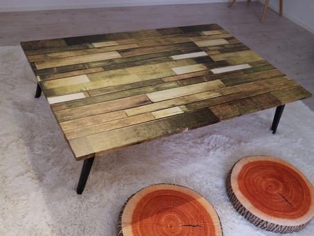座卓テーブルもあります☆