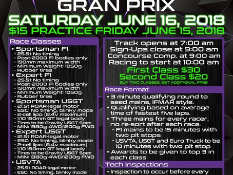 Las Vegas Grand Prix – June 16th