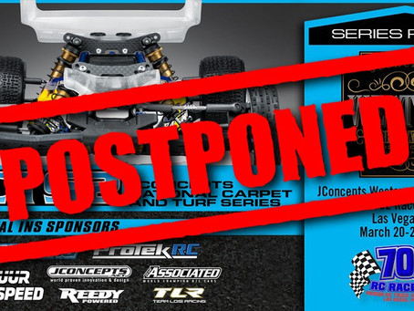 JConcepts NCTS2 #1 race has been Postponed
