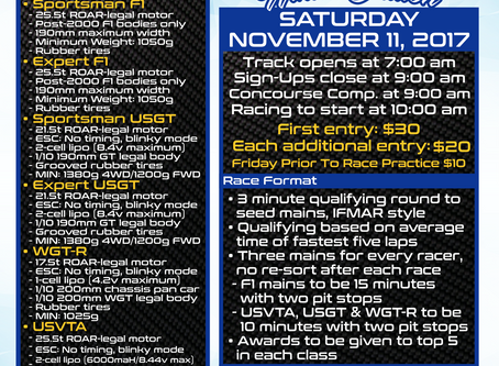 Breaking New:  Announcing Gravity RC as the sponsor for the Las Vegas RC Gran Prix – Winter Ed