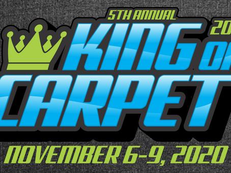 King of Carpet Podium Winners