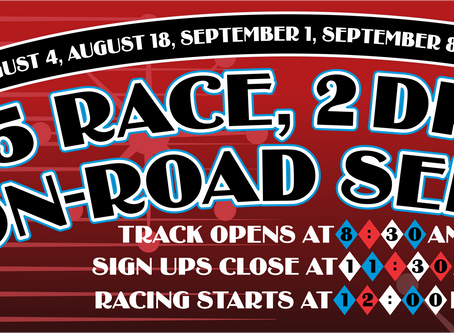 Summer Classic On Road Race Series #2 – Race Results