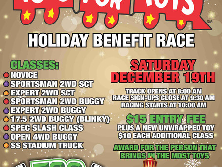 702 RC Raceway 6th Annual Toys for Tots Race!
