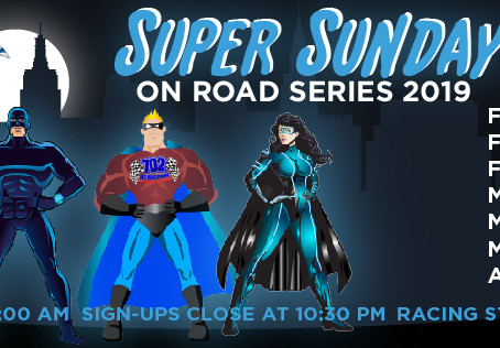 Super Sunday On-Road Series 2019 Race #3 – Points Results