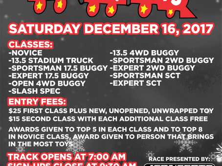 Upcoming Race: Toys for Tots – 2017