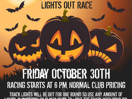 Halloween Lights Out Race Announced!