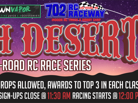 High Desert Off-Road Series Race #4 Points Results