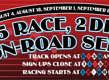 Summer Classic On Road Race Series #3 – Race Results