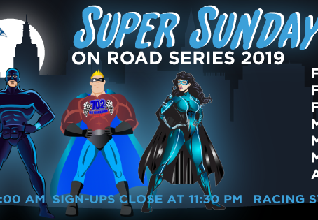 Super Sunday On-Road Series 2018 Race #1 – Points Results