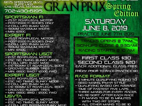 Las Vegas RC Gran Prix: Update