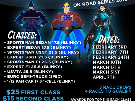Announcement:  Super Sunday On-Road Race Series – 2019