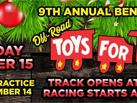 Announcing Sponsors for the 2018 Toys for Tots Benefit Race