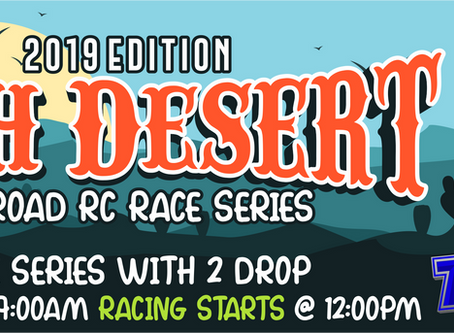High Desert Off-Road RC Race Series – 2019 – Race #5 Results