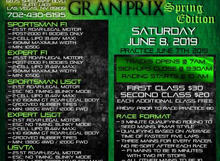 Las Vegas RC Grand Prix – Spring Edition – 2019 Race Results