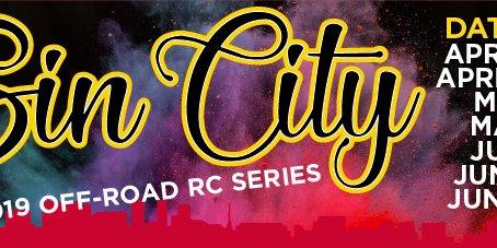 Sin City Off-Road Series 2019 Race #1 – Points Results