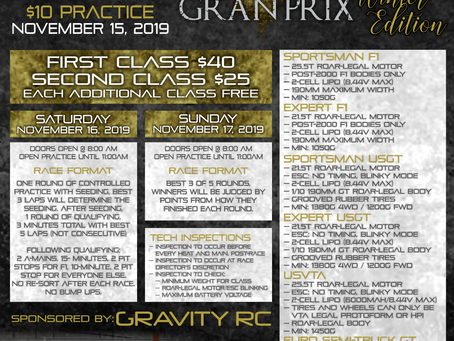 Las Vegas Gran Prix – Winter Edition – 2019