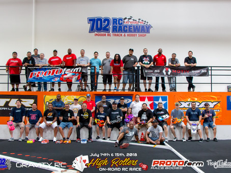 2018 High Rollers On-Road RC Race Pics