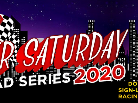 Super Saturday On-Road Series Race #1 Points – 2020