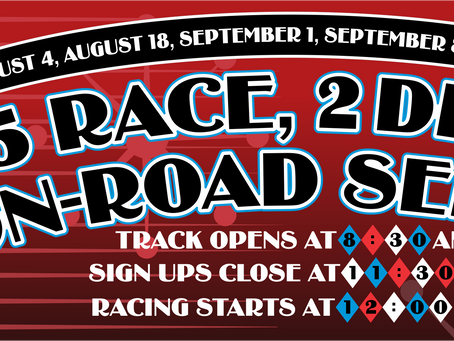 Summer Classic On-Road Race Series #2 – Points Results