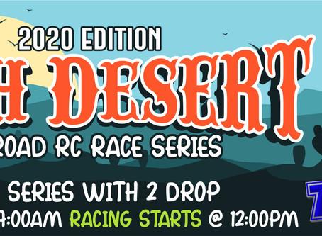 High Desert Off-Road Series Race #2 – 2020 - Series Standings