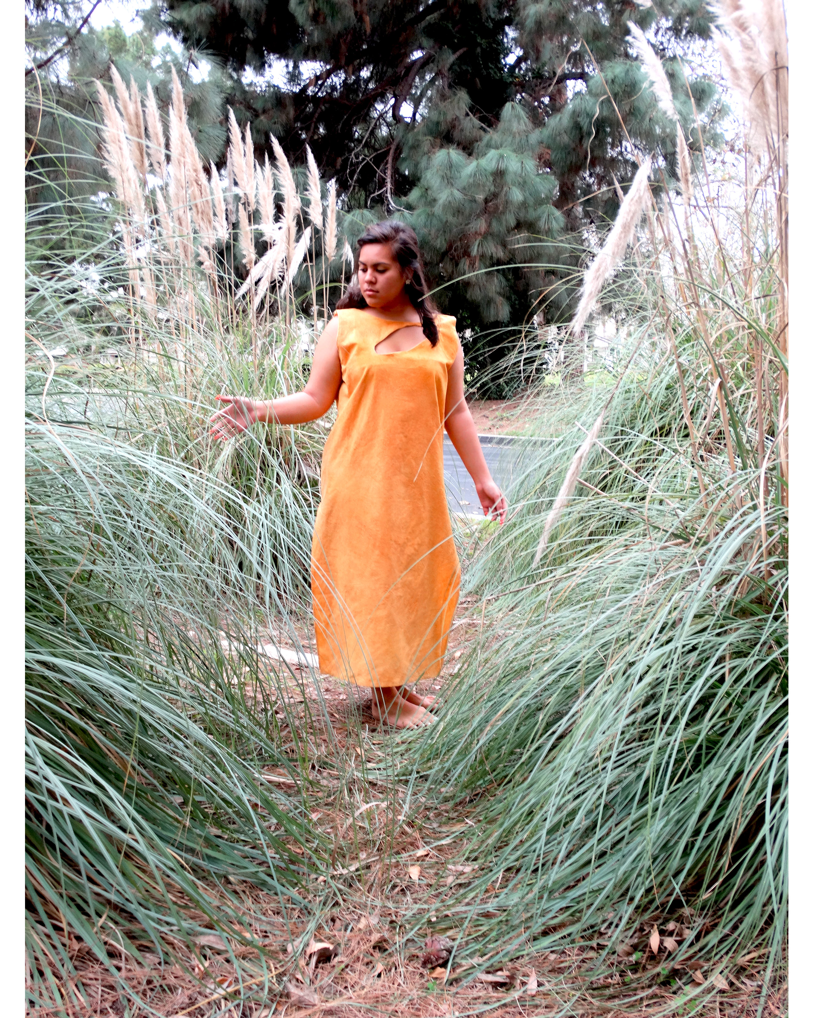 Paprika Dyed Dress