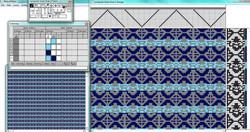 Computer Loom Weave Pattern