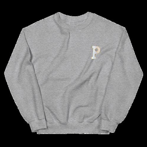 P Logo Sweatshirt - Grey