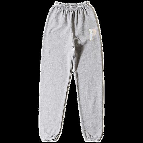P Logo Sweatpants - Grey