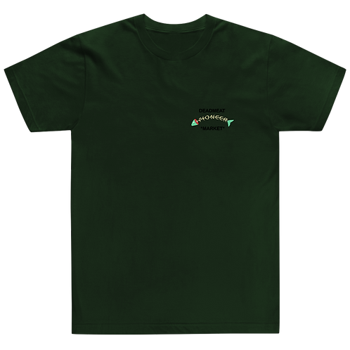 Fish Tee - Forest Green