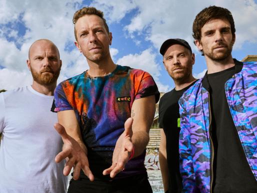 Coldplay anuncia datas de sua nova turnê mundial Music of the Spheres